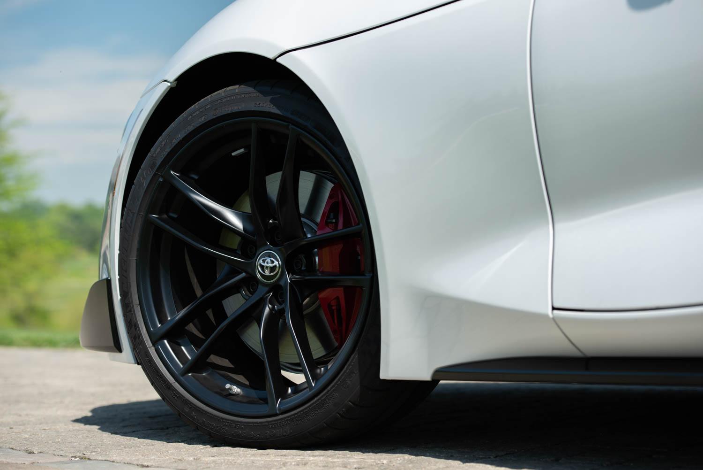 2020 Toyota Supra GR wheel