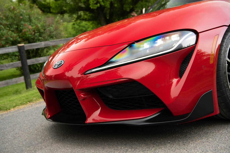2020 Toyota Supra GR front