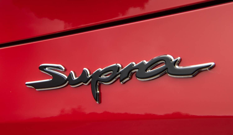 2020 Toyota Supra GR badge