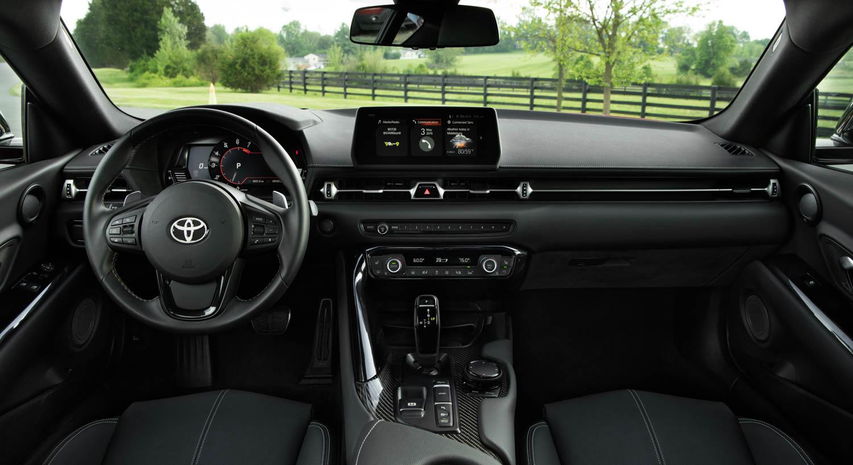 2020 Toyota Supra GR interior