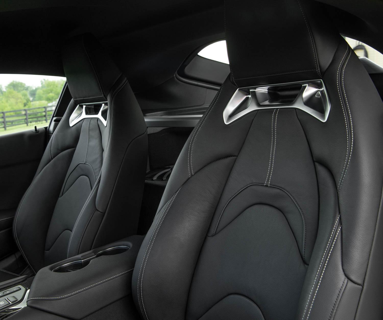 2020 Toyota Supra GR seat detail