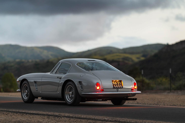 1962 Ferrari 250 GT SWB Berlinetta rear 3/4