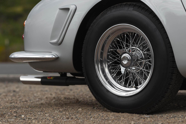1962 Ferrari 250 GT SWB Berlinetta wheel detail