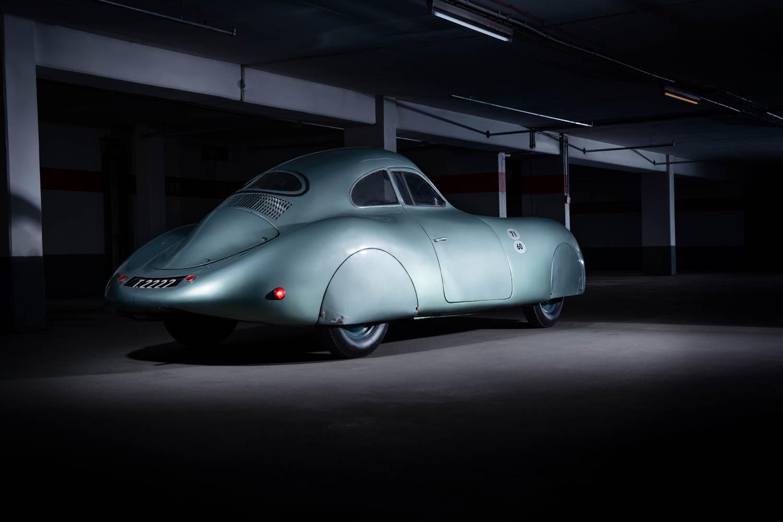 1939 Porsche Type 64 rear 3/4