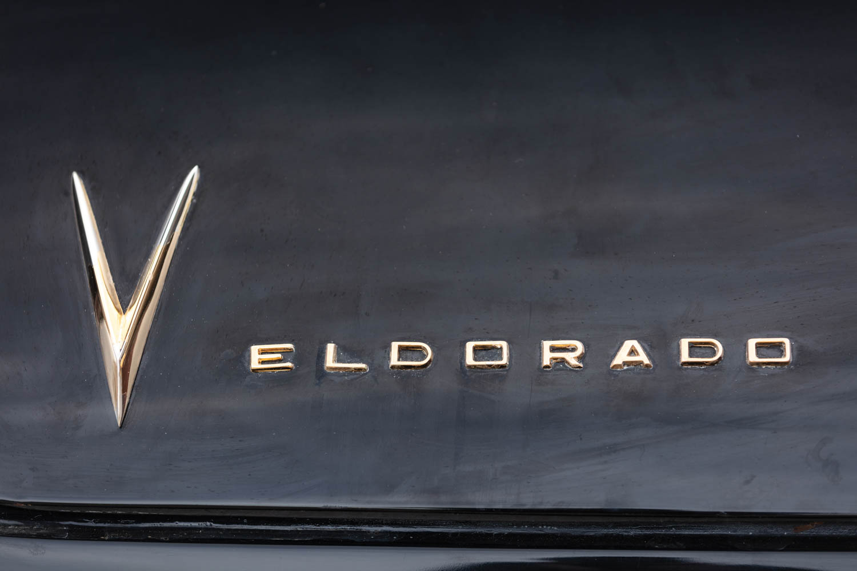 1958 Cadillac Eldorado Biarritz badge