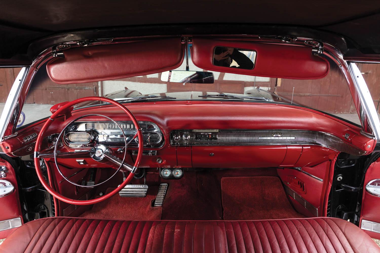 1958 Cadillac Eldorado Biarritz seats