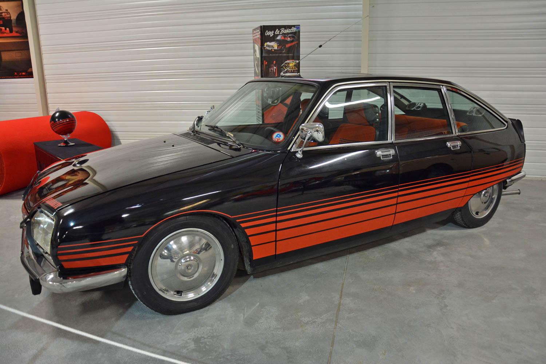 1978 Citroën GS Basalte profile