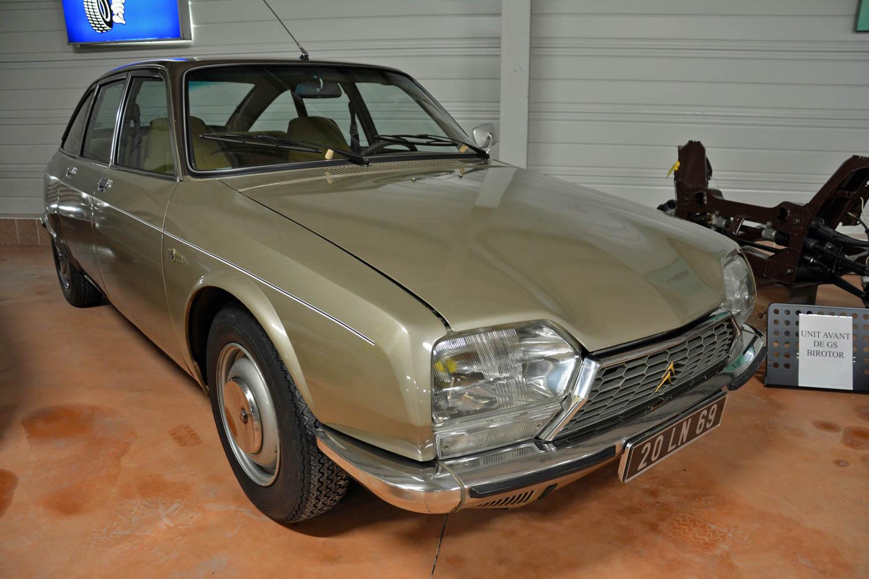 1974 GS Birotor front 3/4