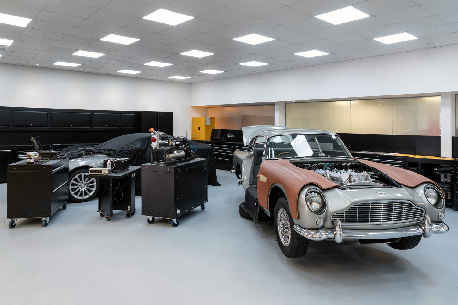 Aston Martin's Goldfinger DB5 continuation cars