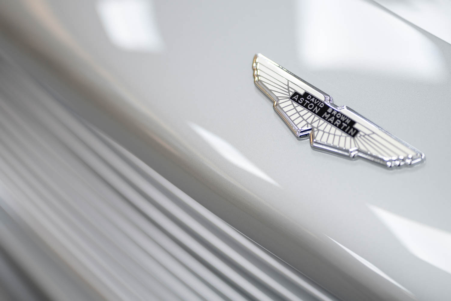 Aston Martin's Goldfinger DB5 continuation cars badge