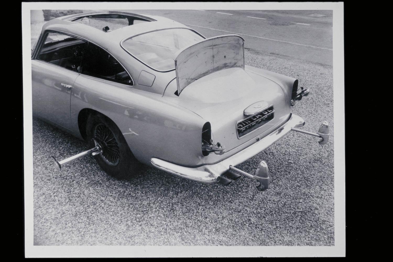 Goldfinger DB5 stunt car