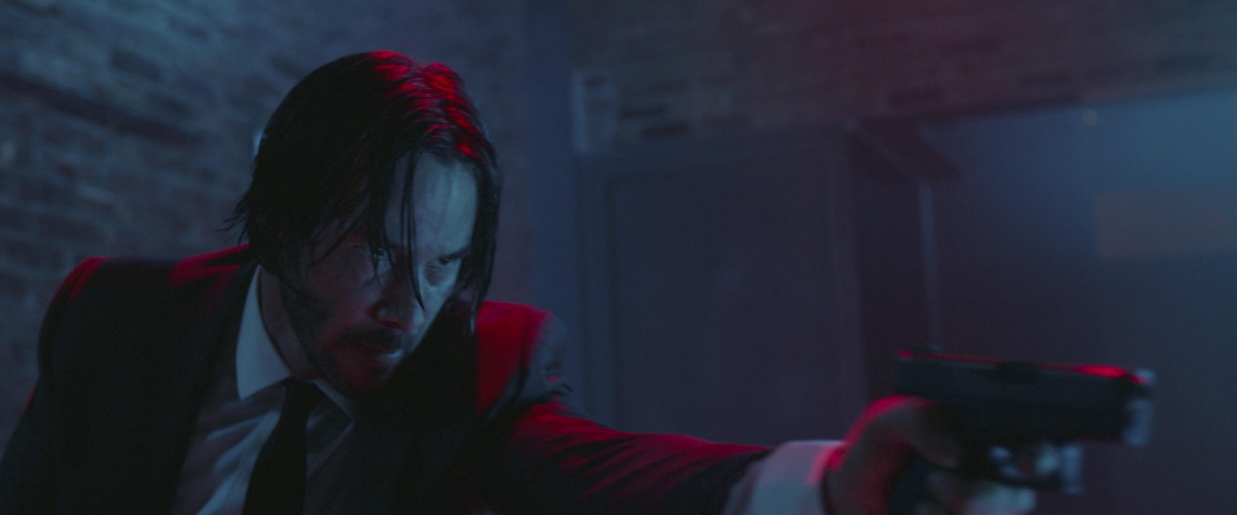 John Wick with gun