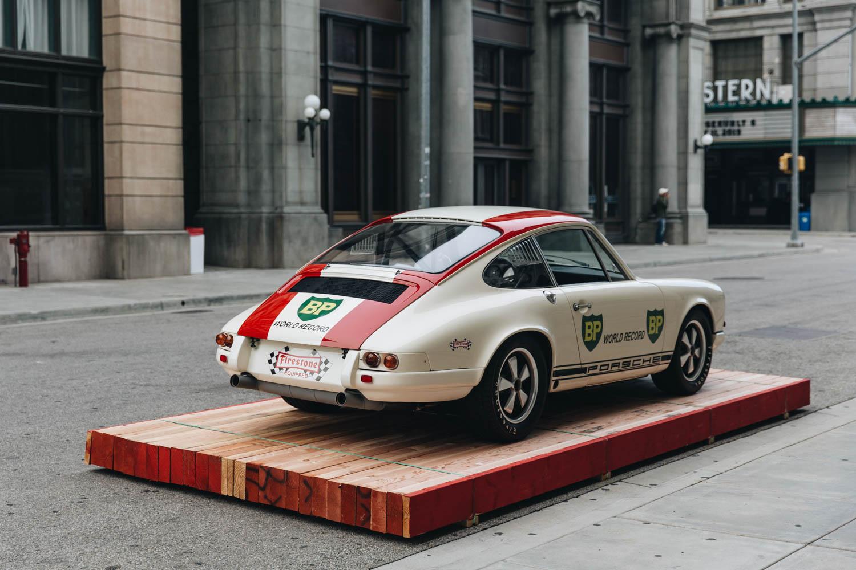 rear 3/4 Porsche 911 Luftgekühlt