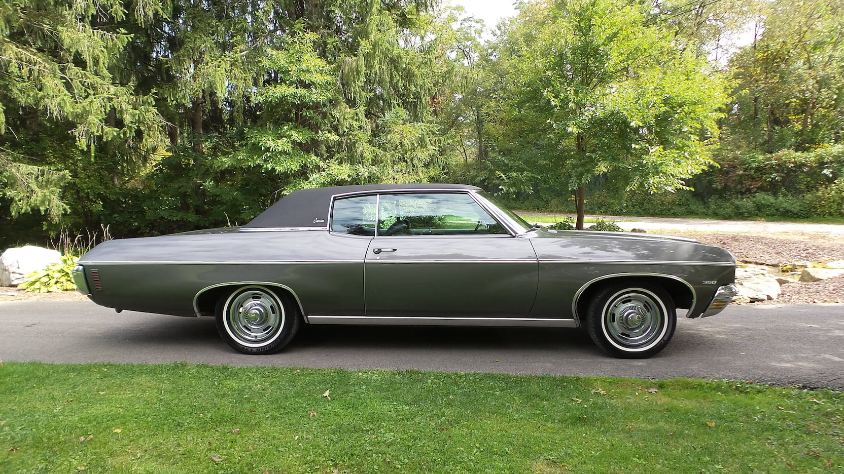 1970 Chevrolet Caprice profile