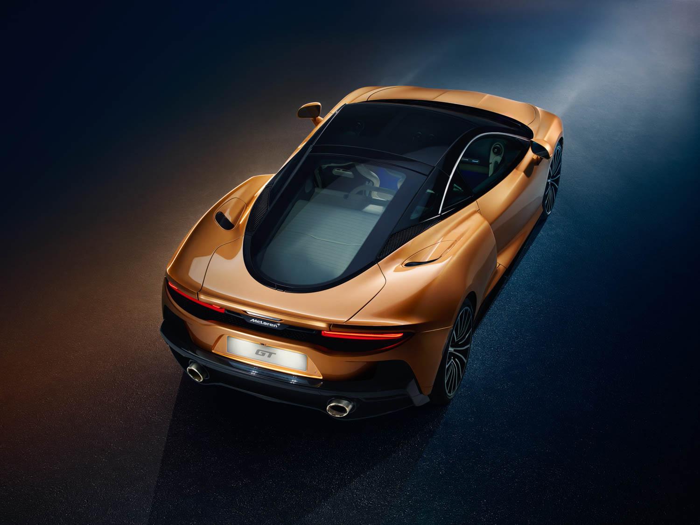 McLaren GT rear overhead