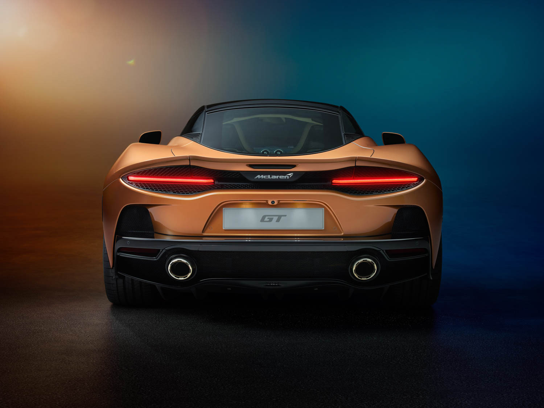 McLaren GT rear