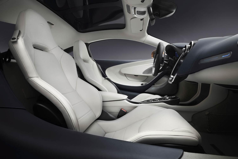 McLaren GT seat detail