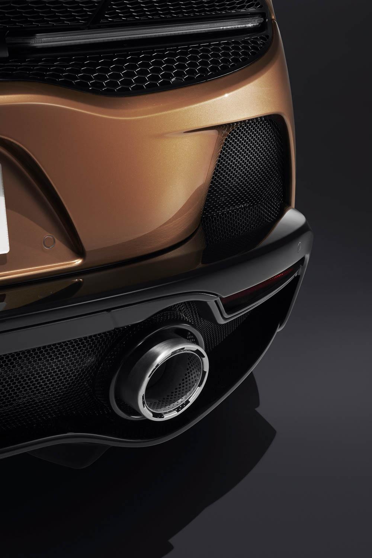 McLaren GT exhaust