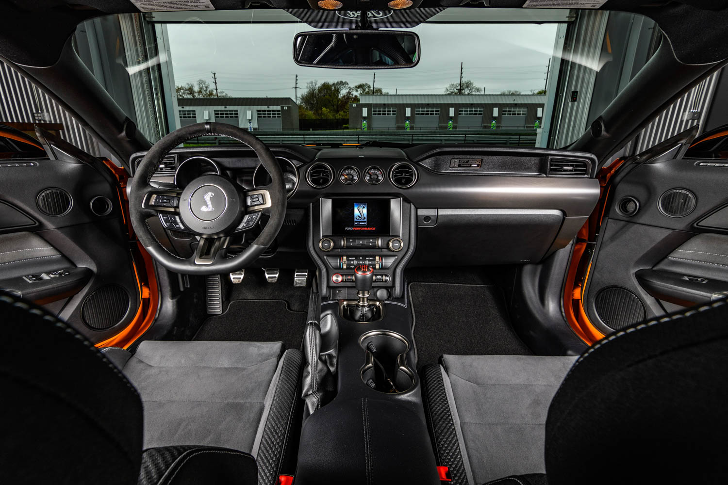 2019 Ford Mustang Shelby GT350 interior