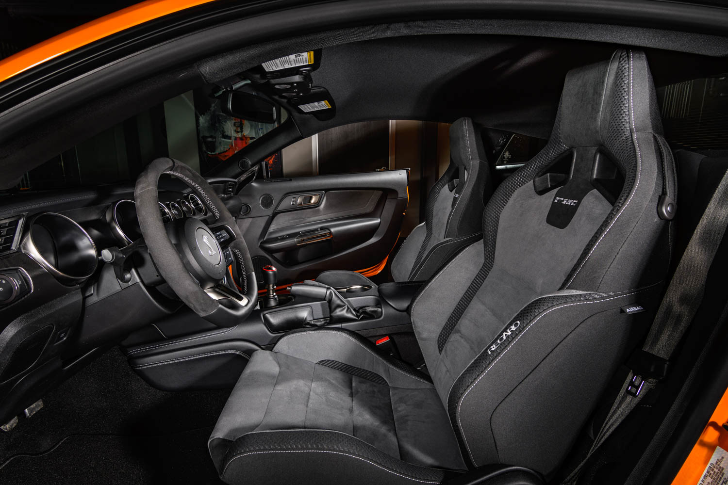 2019 Ford Mustang Shelby GT350 seat detail