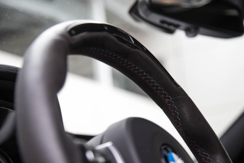 2017 One Lap of America BMW M3 steering wheel