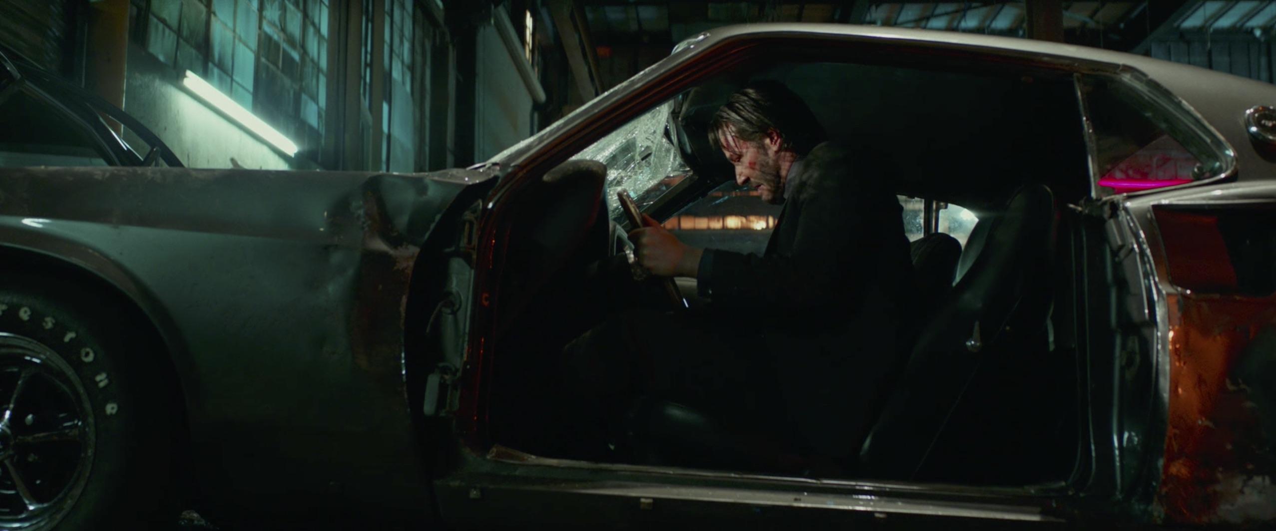 John Wick: Chapter 2 Keanu Reeves driving