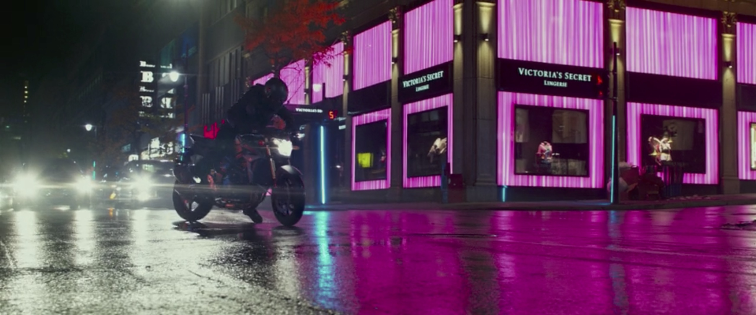 John Wick: Chapter 2 motorcycle chase