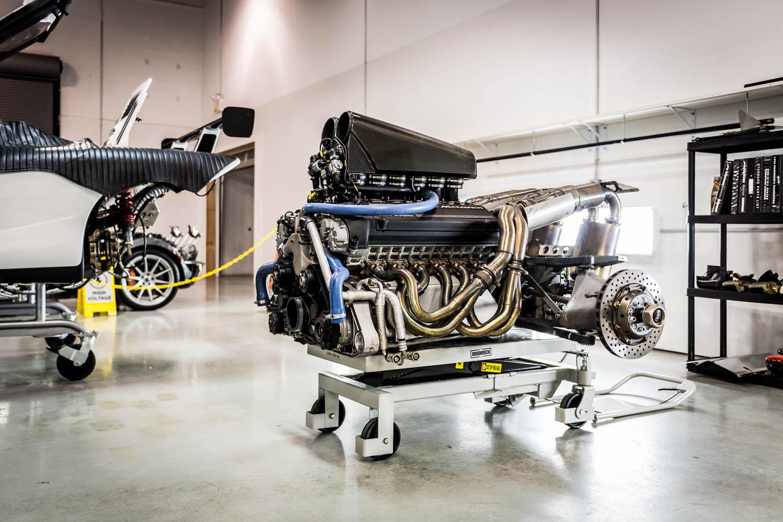 McLaren US Service Center engine