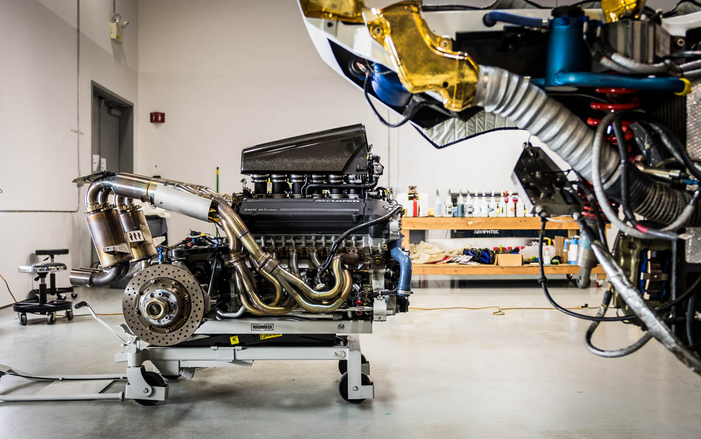 McLaren engine