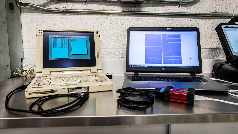 McLaren US Service Center computer diagnostics