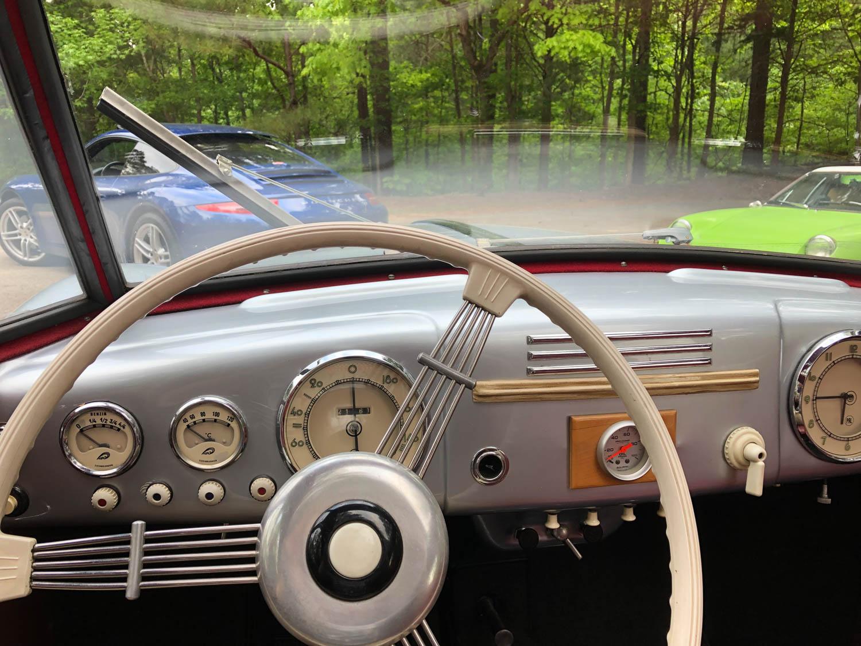 Tatra T-87 steering wheel