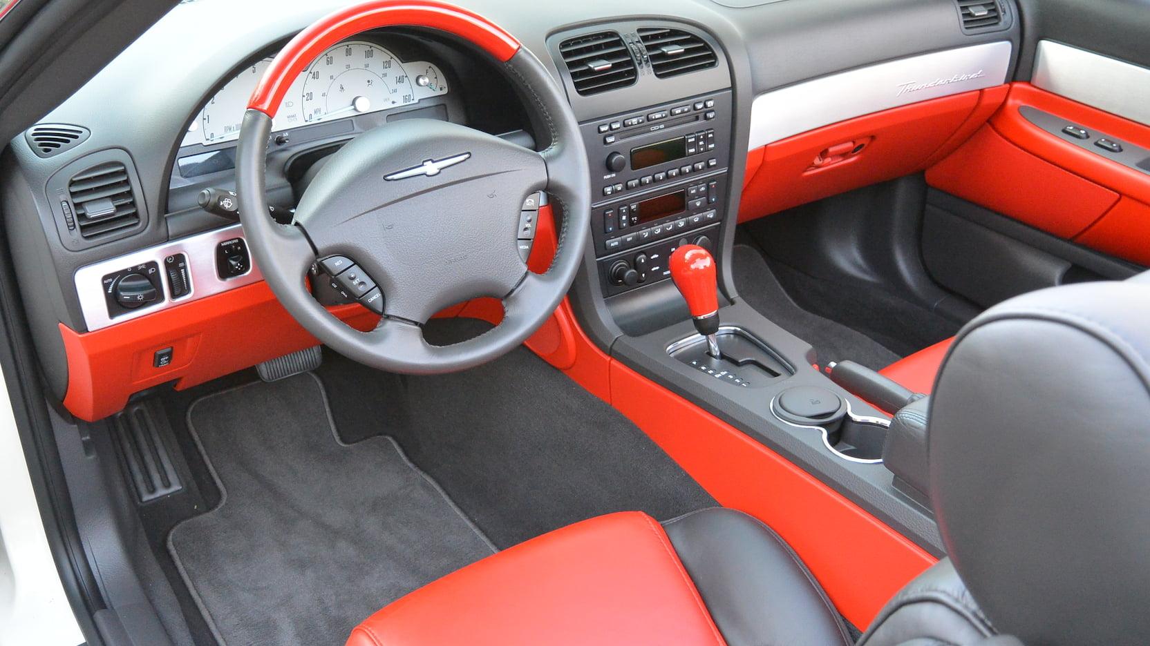 2002 Ford Thunderbird interior