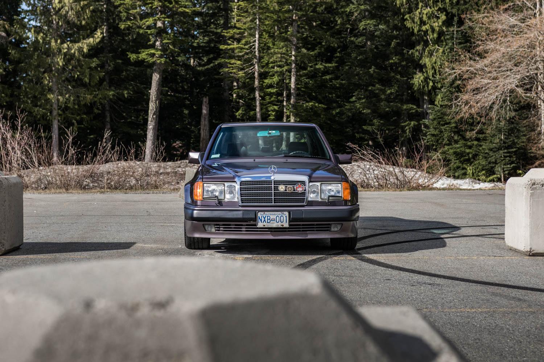 Mercedes-Benz 500E front