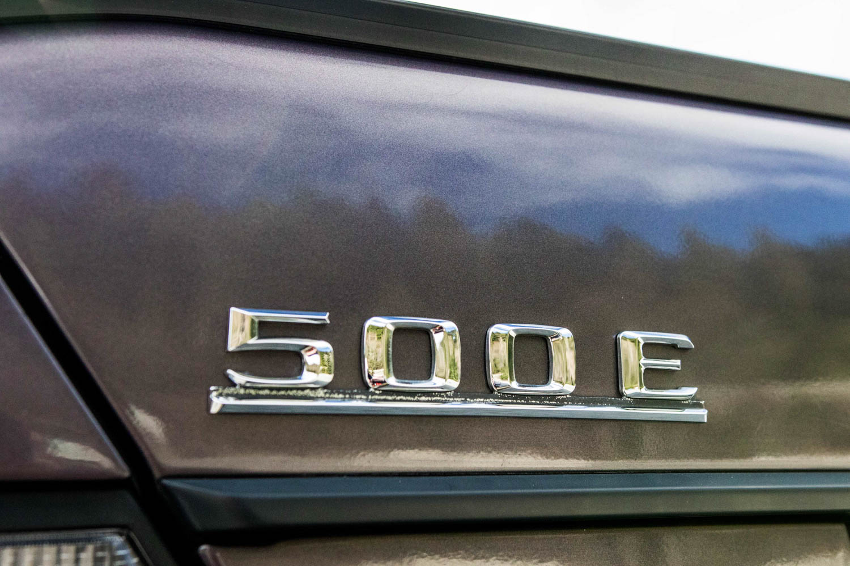 Mercedes-Benz 500E badge