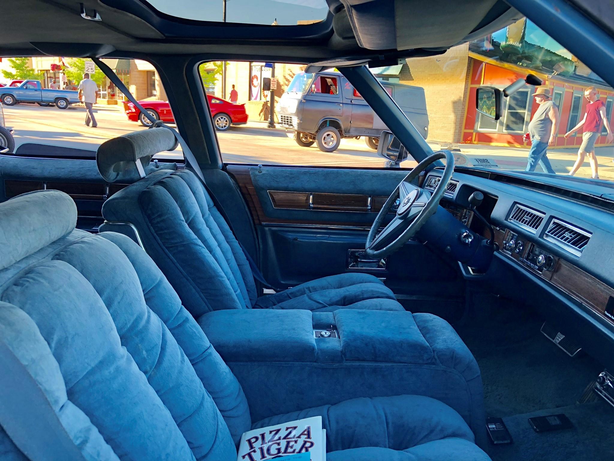 1976 Cadillac Fleetwood Talisman interior