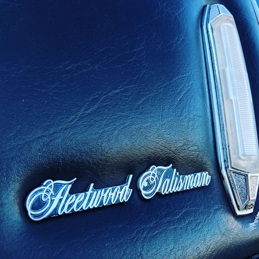 1976 Cadillac Fleetwood Talisman badge