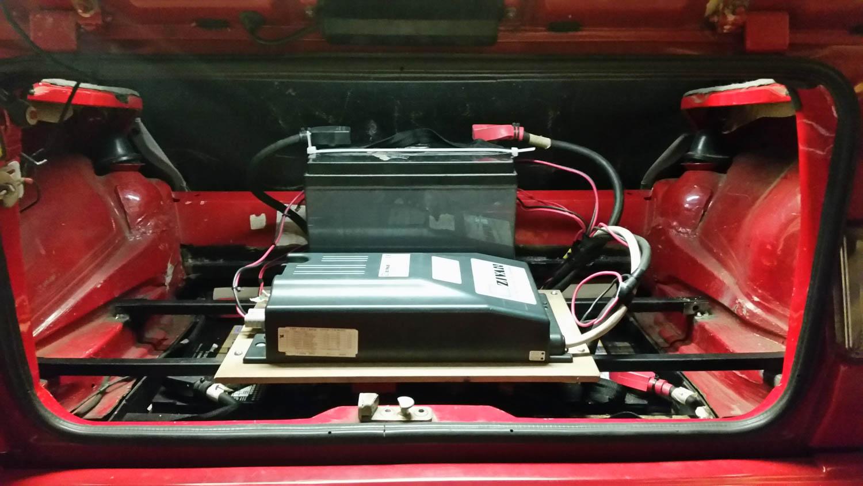 Volkswagen EV Rabbit battery