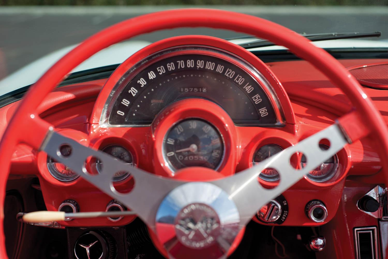 1958 Chevrolet Corvette gauges