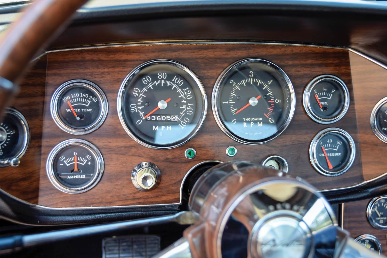 1963 Studebaker Avanti gauges