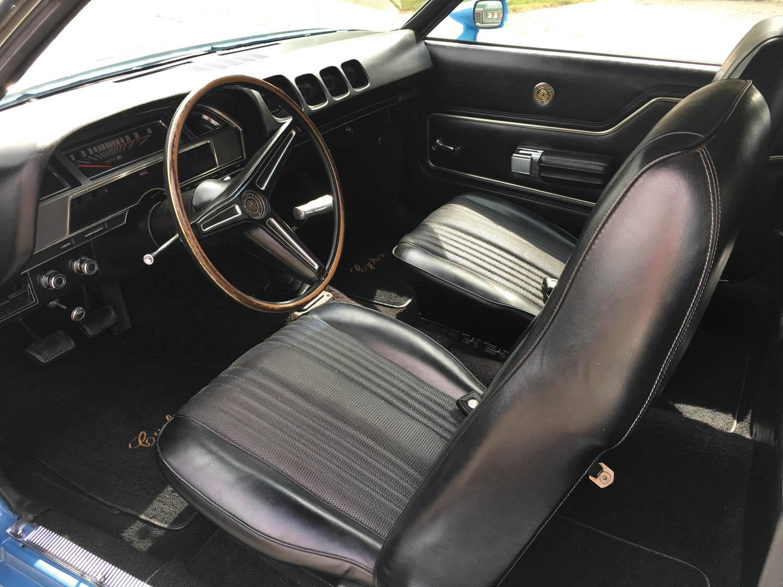 1970 Mercury Cyclone interior