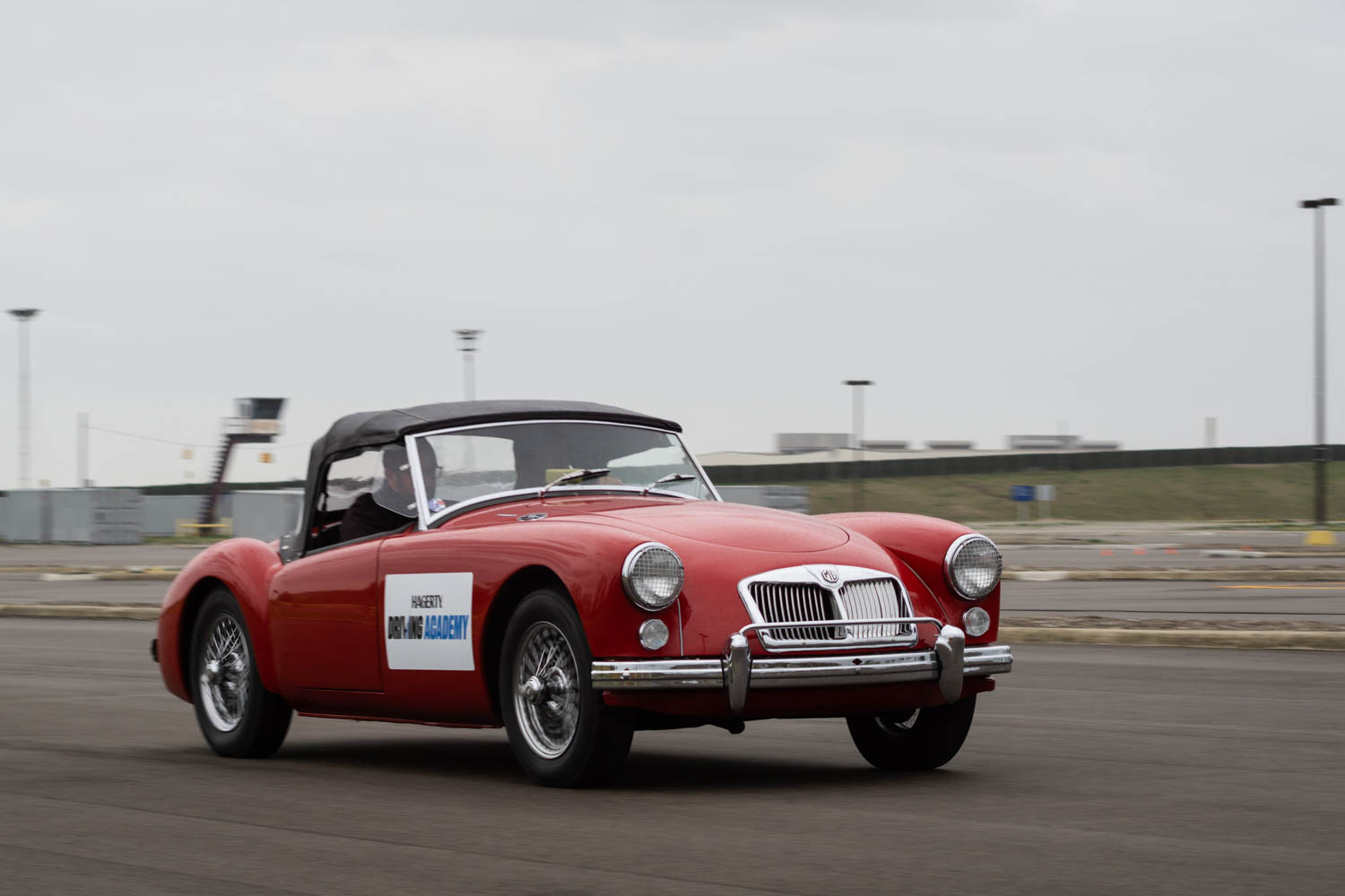 Jeff Peek owns a Triumph Spitfire and wanted to see how it compares to this MG TD