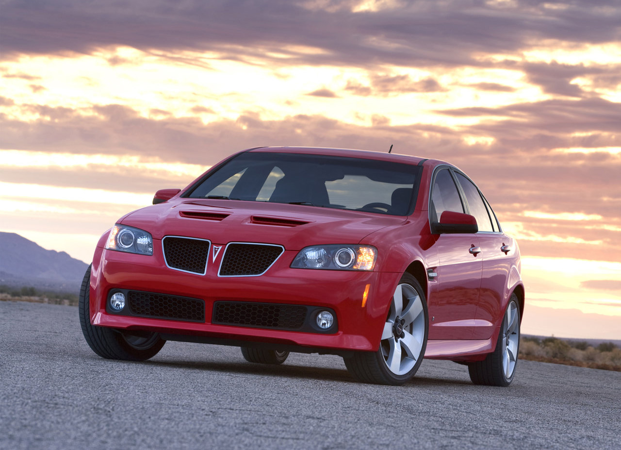 2008–09 Pontiac G8: A market driver you need to experience