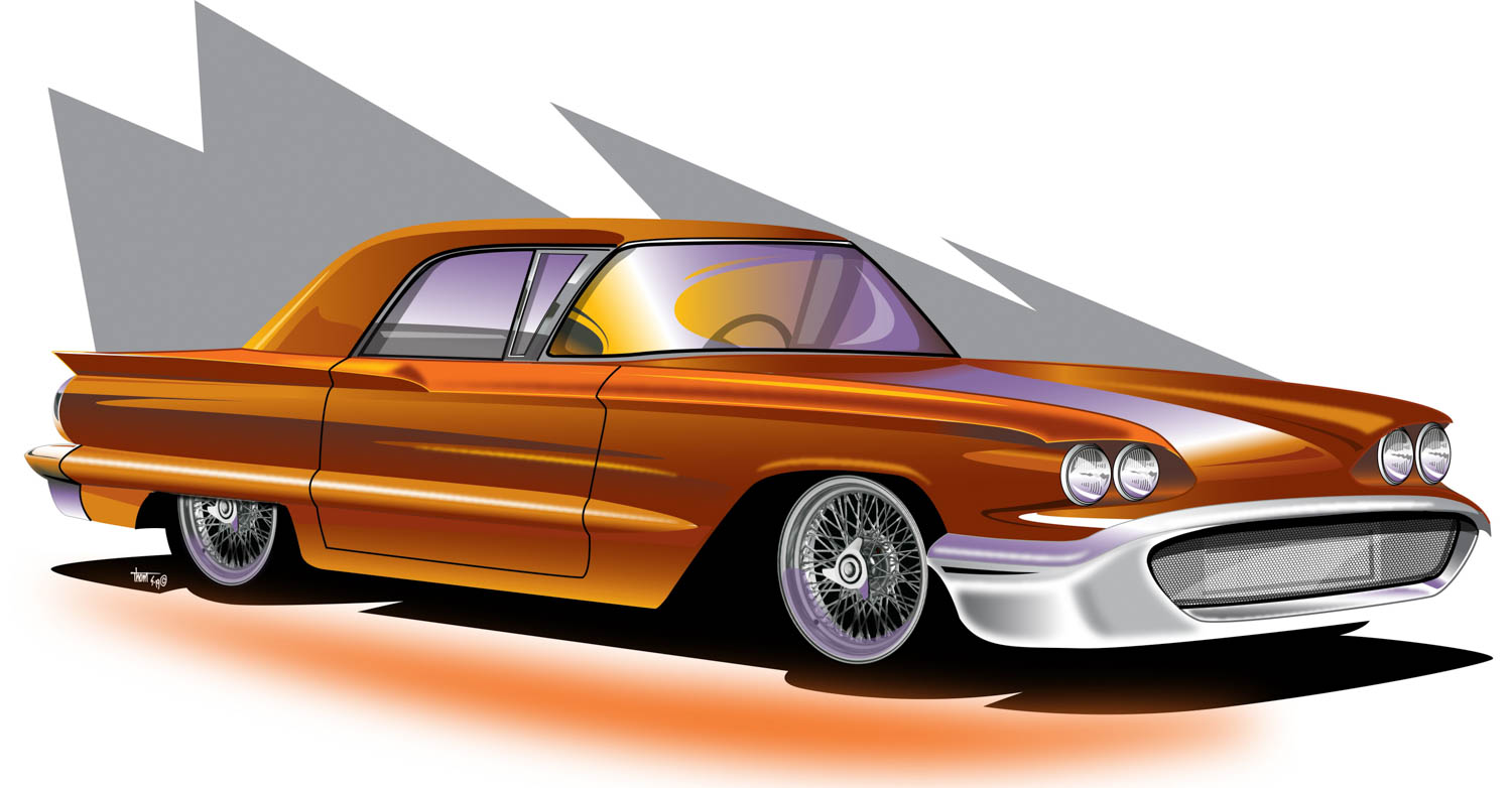 What if the Ford Thunderbird had remained a Corvette competitor?
