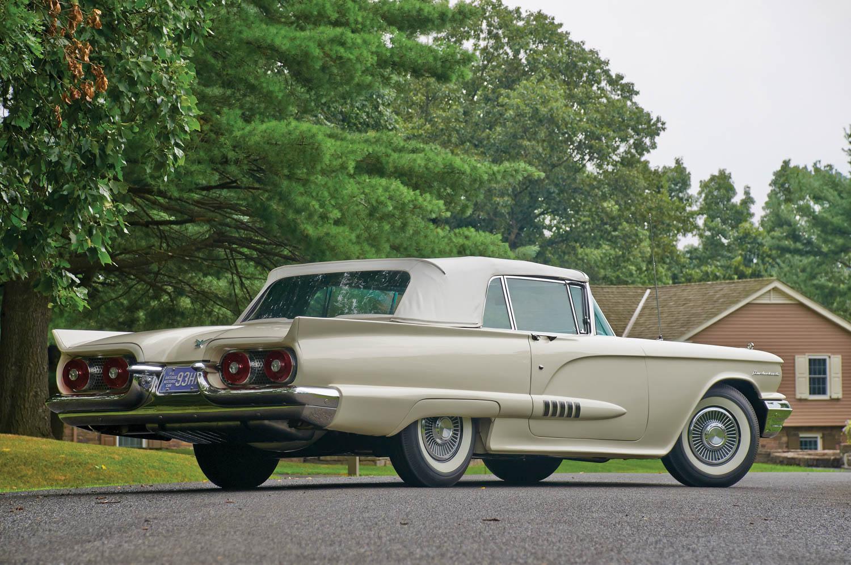 1958 Ford Thunderbird rear 3/4