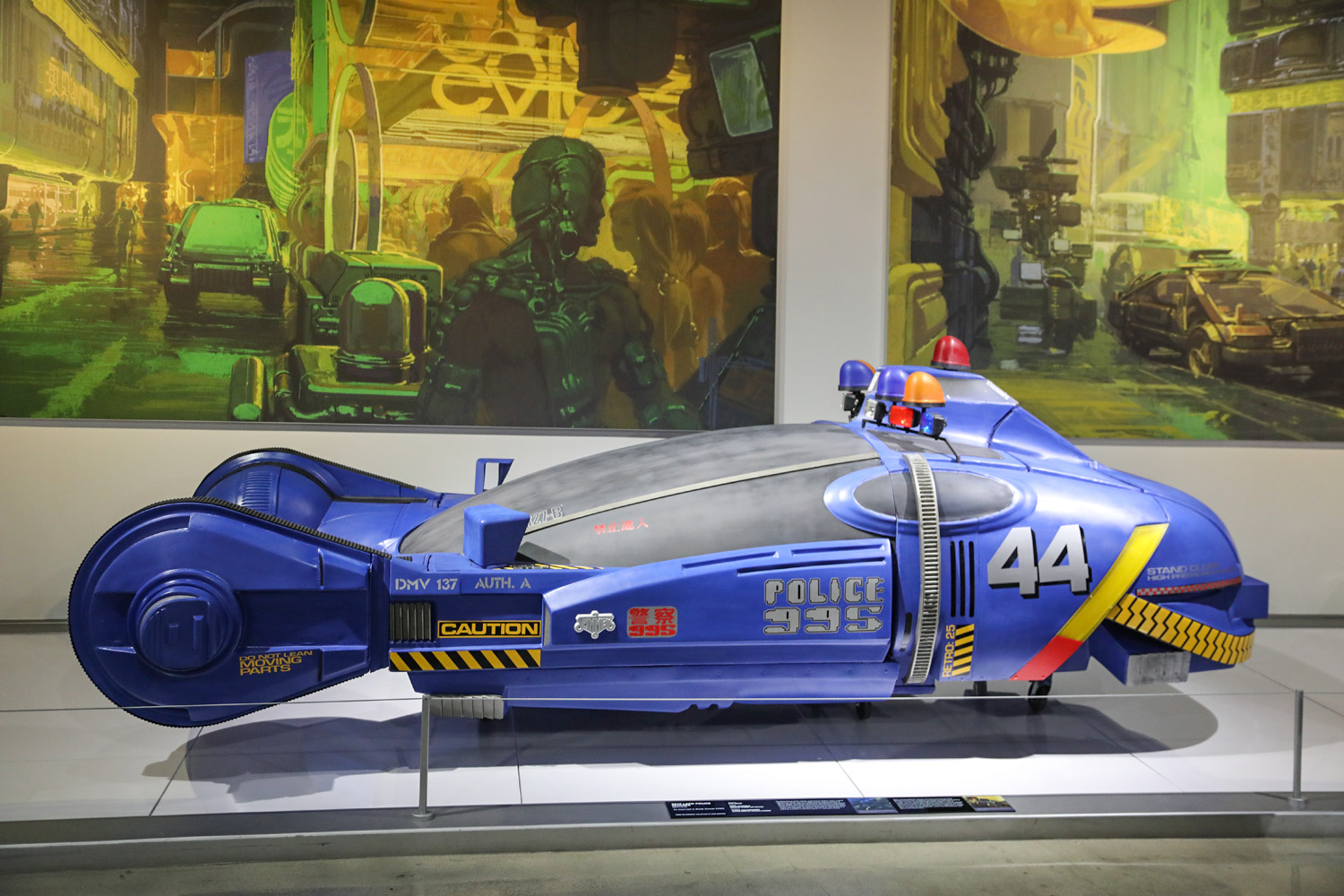 Hollywood Dream Machines: Vehicles of Science Fiction and Fantasy Petersen Automotive Museum
