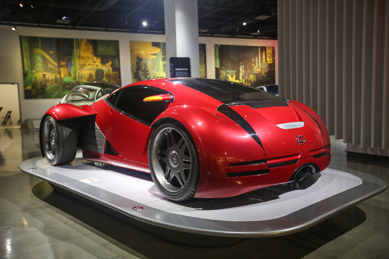 Petersen Automotive Museum movie cars