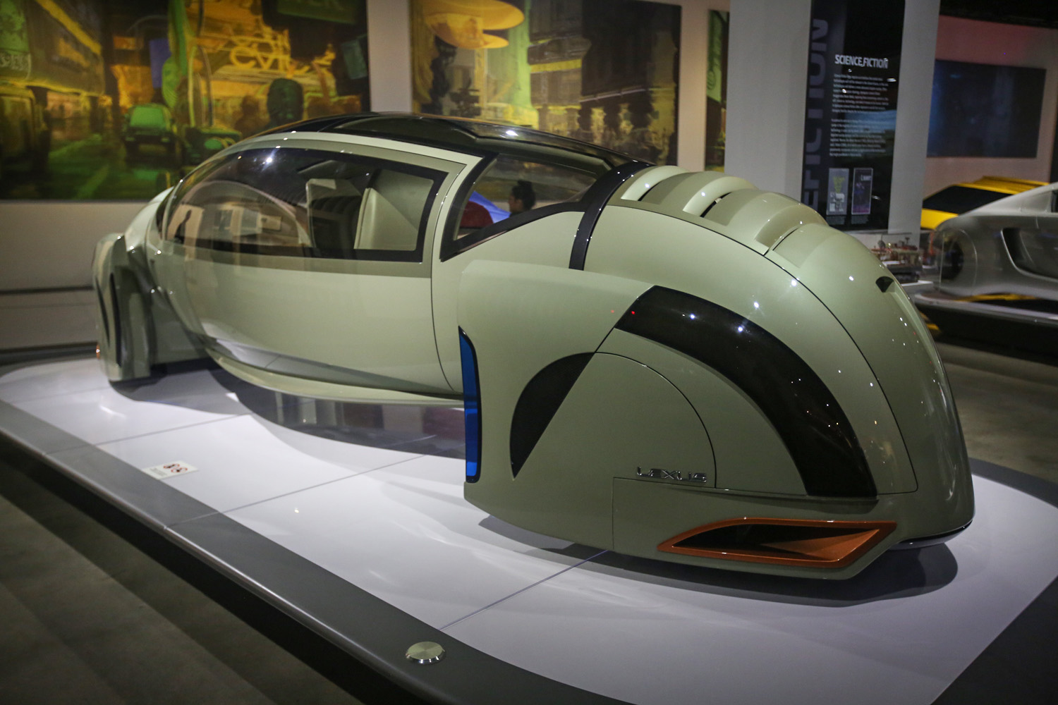 Hollywood Dream Machines: Vehicles of Science Fiction and Fantasy exhibit