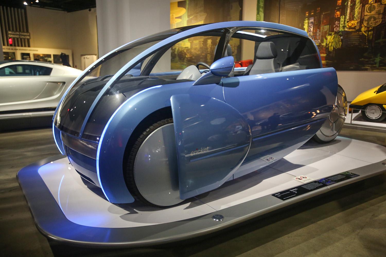 Sci-fi movie cars