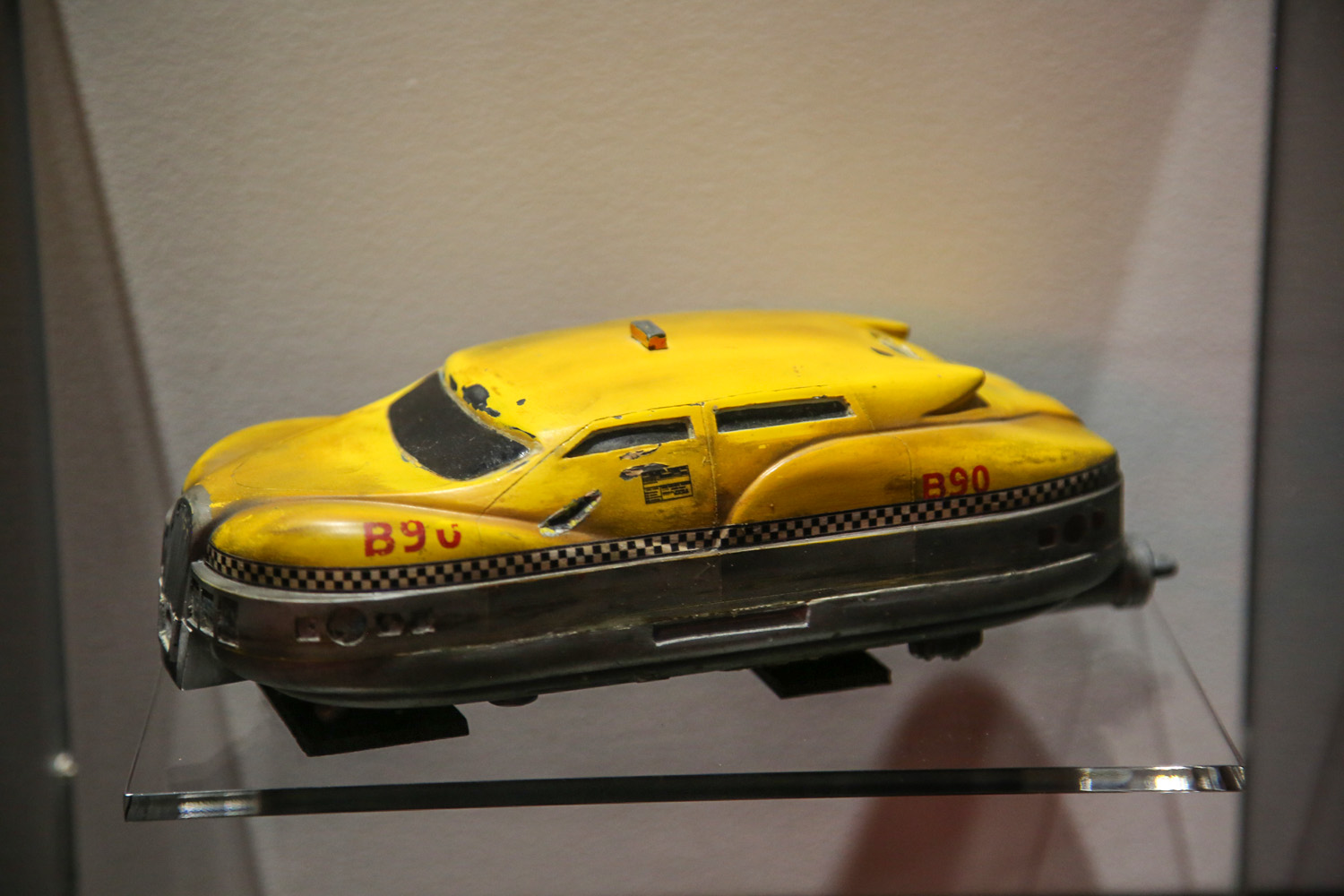 Hollywood Dream Machines: Vehicles of Science Fiction and Fantasy Petersen Automotive Museum fith element taxi