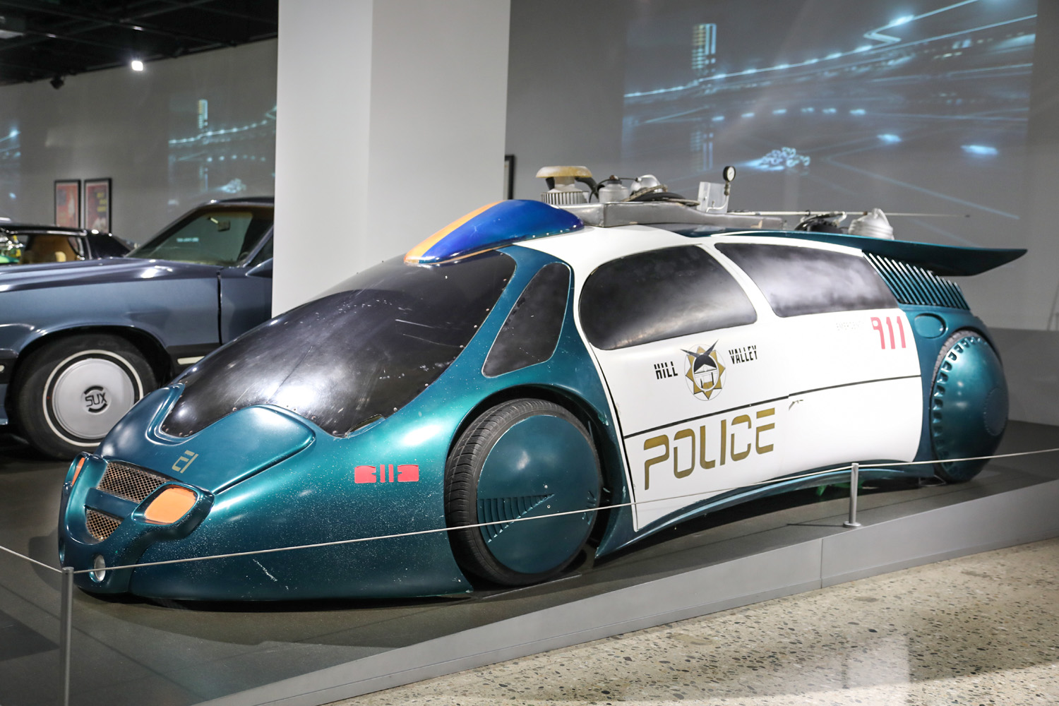 Vehicles of Science Fiction and Fantasy police car